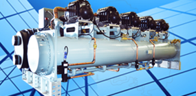 Magnetic chiller, maglev chiller, magnetic bearing