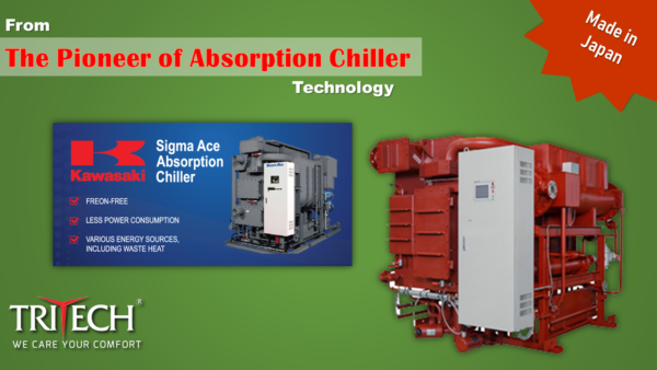 Kawasaki, absorption chiller