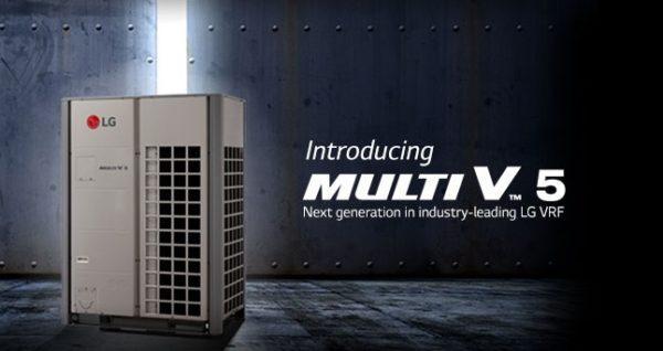 LG, Multi v5, VRF, Tritech